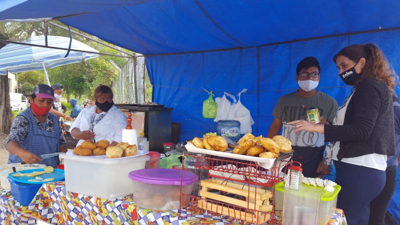 inspecciones salmonella controles municipalidad ferias barriales comida