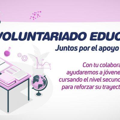 voluntariado flyer