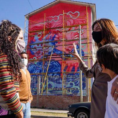 Murales Parque Belgrano 2