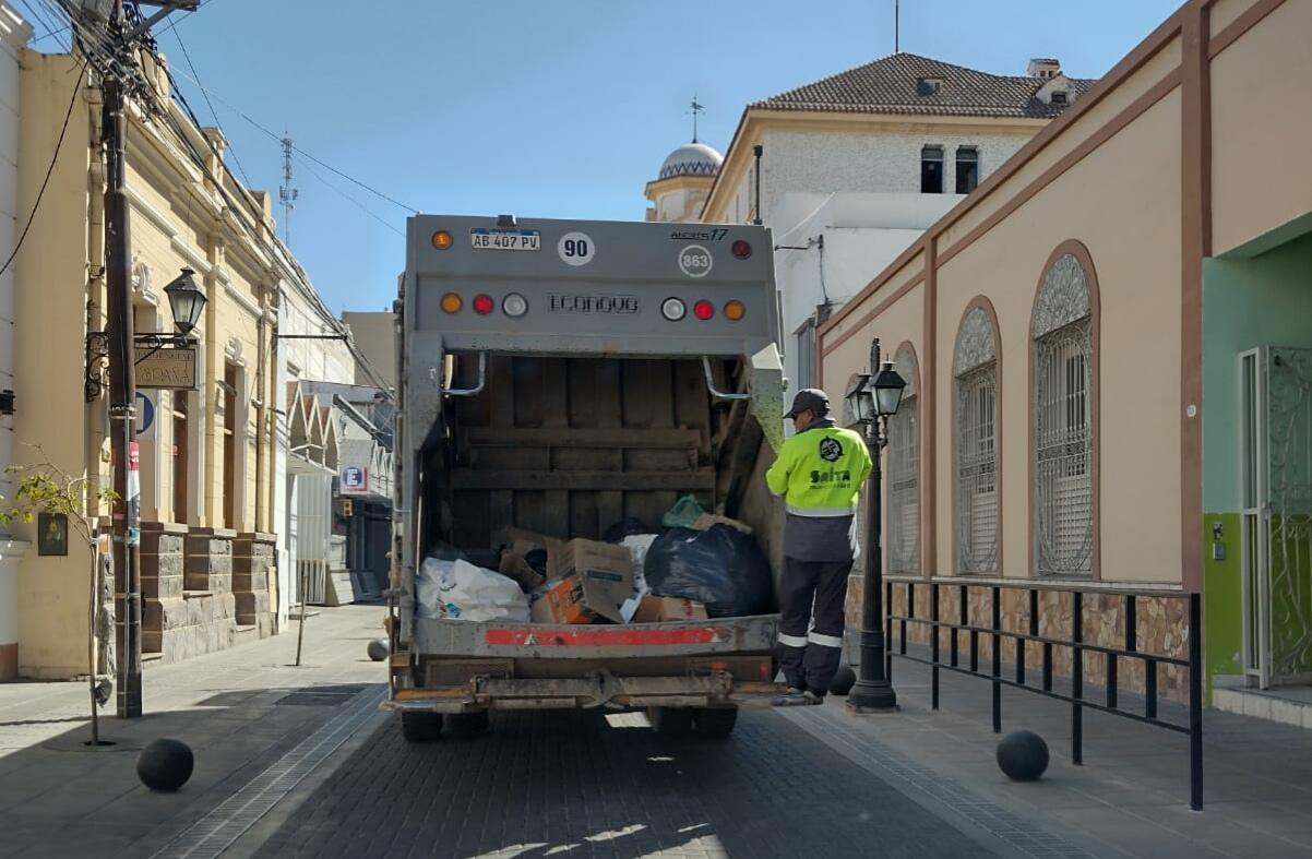 Salta Separa: en un mes se logró reducir un 40 % de enterramiento de residuos